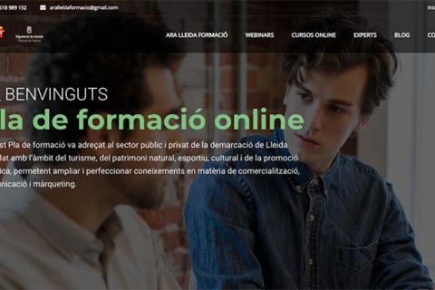 Plataforma de formación Ara Lleida