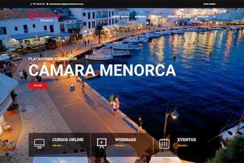 Plataforma de formación Cámara de Comercio Menorca